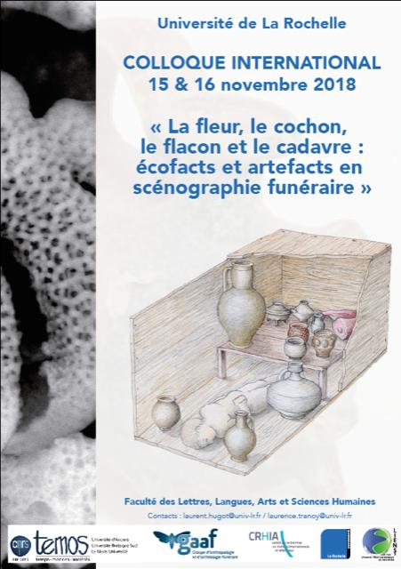 Colloque scénographie funéraire La Rochelle