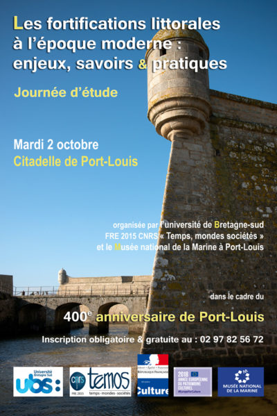 Les fortifications littorales à l'époque moderne : enjeux, savoirs & pratiques