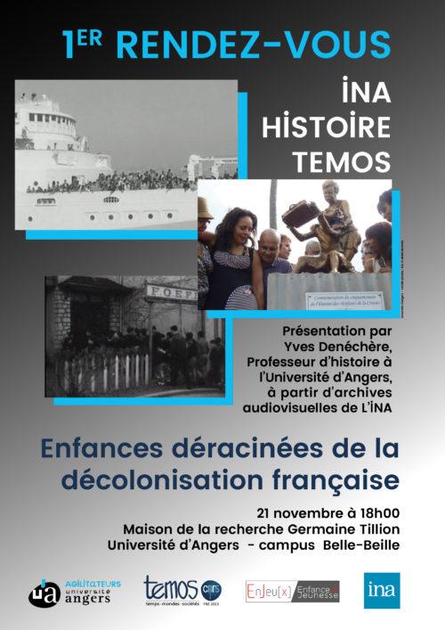 Enfances déracinées de la décolonisation francaise