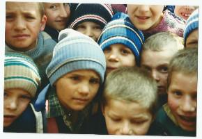 Visages enfants roumains