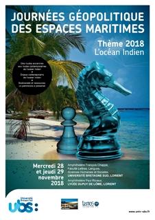 5e Journées géopolitique des espaces maritimes Lorient