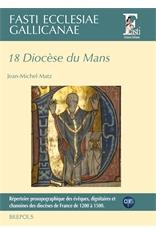 Couverture du volume 18 de la collection des Fasti Ecclesiae Gallicanae