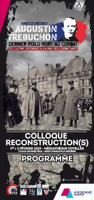 Colloque Reconstruction(s)