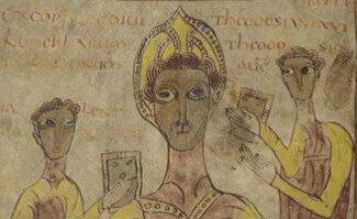Bréviaire d'Alaric (copie de 803-814). Illustration du séminaire de civilisation tardo-antique et médiévale