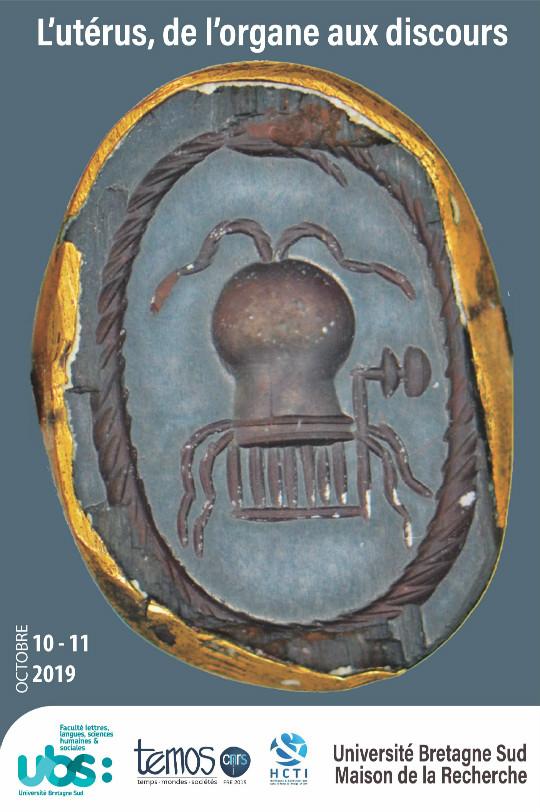 Affiche du colloque Utérus, du corps aux discours