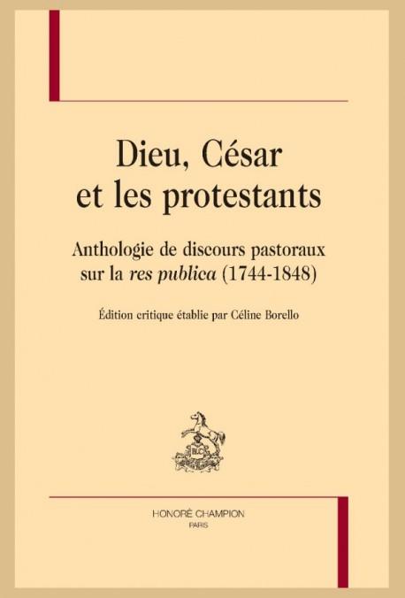 """Couverture du livre """"Dieu, César et les protestants"""