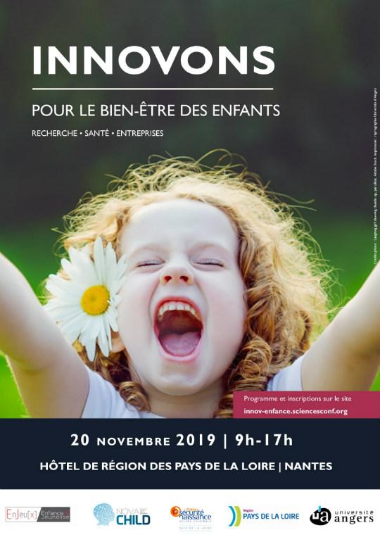 Affiche Innovons pour le bien-être des enfants
