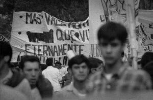 Politisations juvéniles: manifestation en Amérique centrale