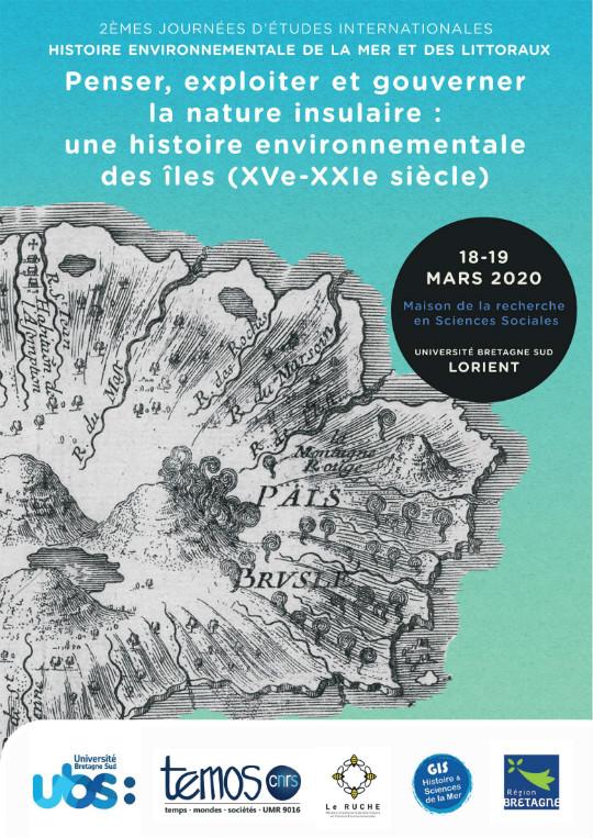 Affiche de la journée d'étude sur la nature insulaire