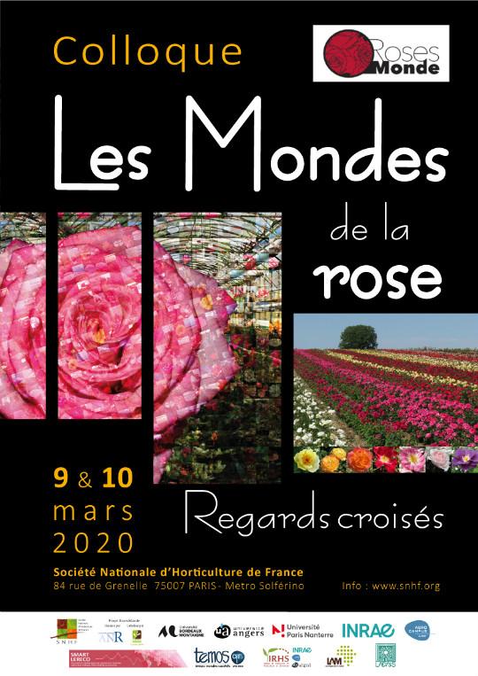 Affiche colloque RosesMonde